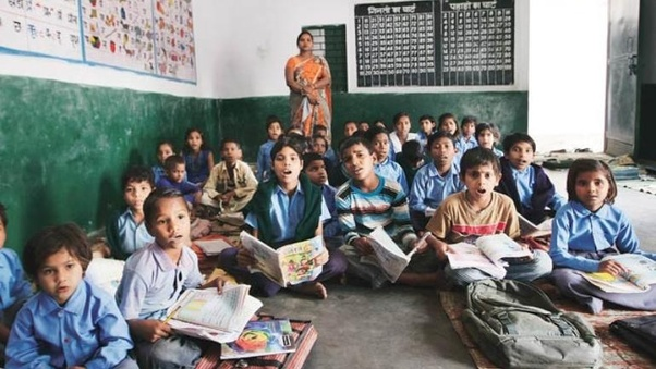 What is bad thing of government primary schools of India