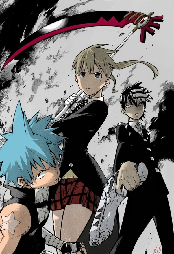 What Are The Main Characters Of The Soul Eater Anime Quora