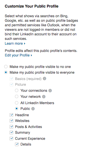 did linkedin just shutdown their public profiles i couldn t see any