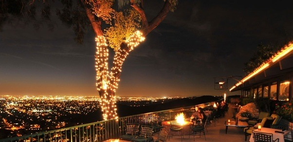 What restaurant has the best sunset views in or near los angeles orange hill restaurant in orange not really la per se but worth the view some wine by the firepits dont mind if i do publicscrutiny Choice Image