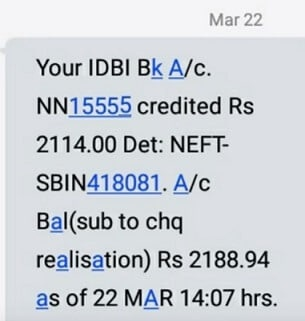 The EPFO claim status in my account is showing settled and payment sent via  NEFT. In how many days would the amount reflect in my bank account? - Quora