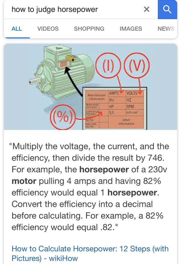 How many rpms make 1 horse power? - Quora