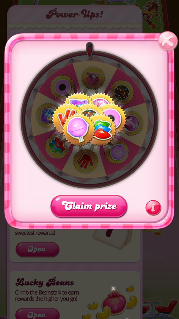 Jackpot Candy Crush