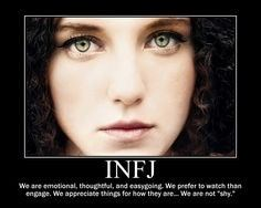 Enfj male infj woman intimidating