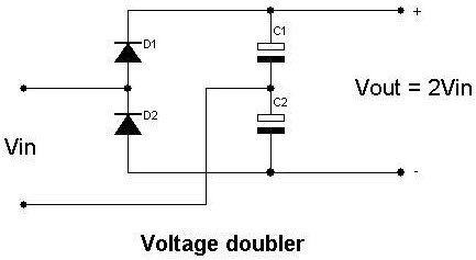 What is a voltage doubler? Explain in brief. - Quora
