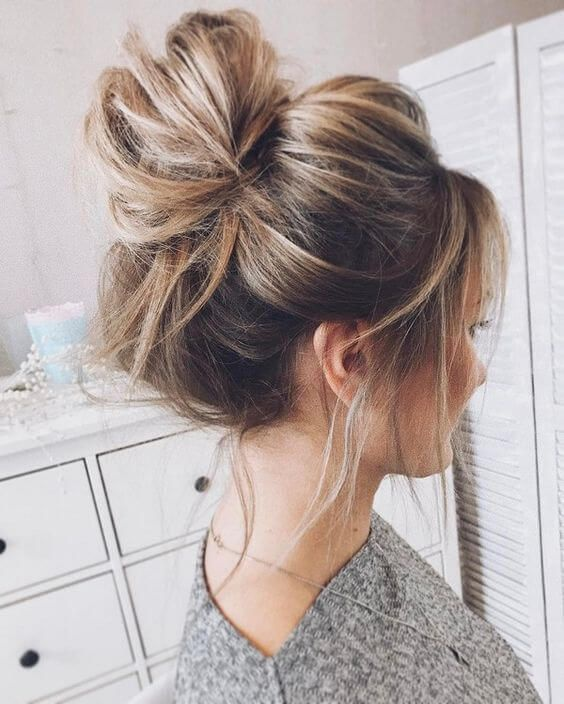 How To Make A Bun Hairstyle For Short Hair Which Are The Various Bun Hairstyles Quora