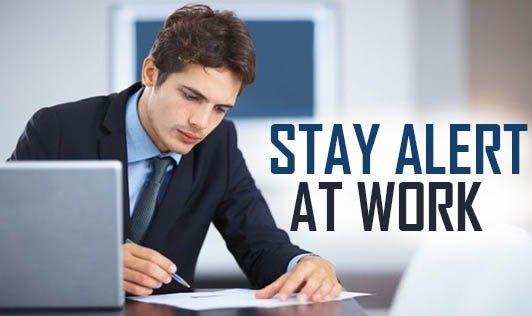 نتيجة بحث الصور عن Ways to be fully awake and fully attentive to work
