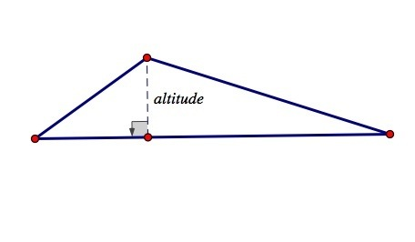 Are Altitude And Height The Same In Geometry Quora - Altitude and height