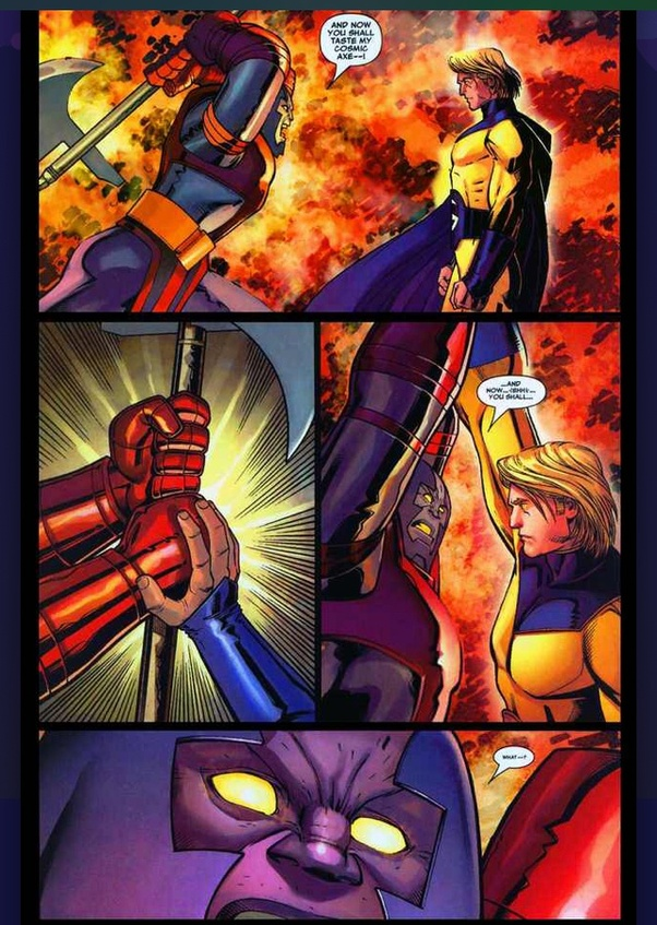 Who Is Stronger Superman Sentry Or Hyperion Quora