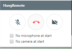 Is there a way to join a hangout with video turned off by default
