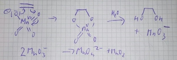 How Exactly Is Ethene Oxidized By Potassium Manganatevii Quora