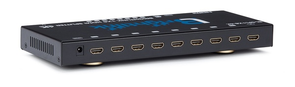 Can I use an HDMI splitter to extend, not duplicate, my