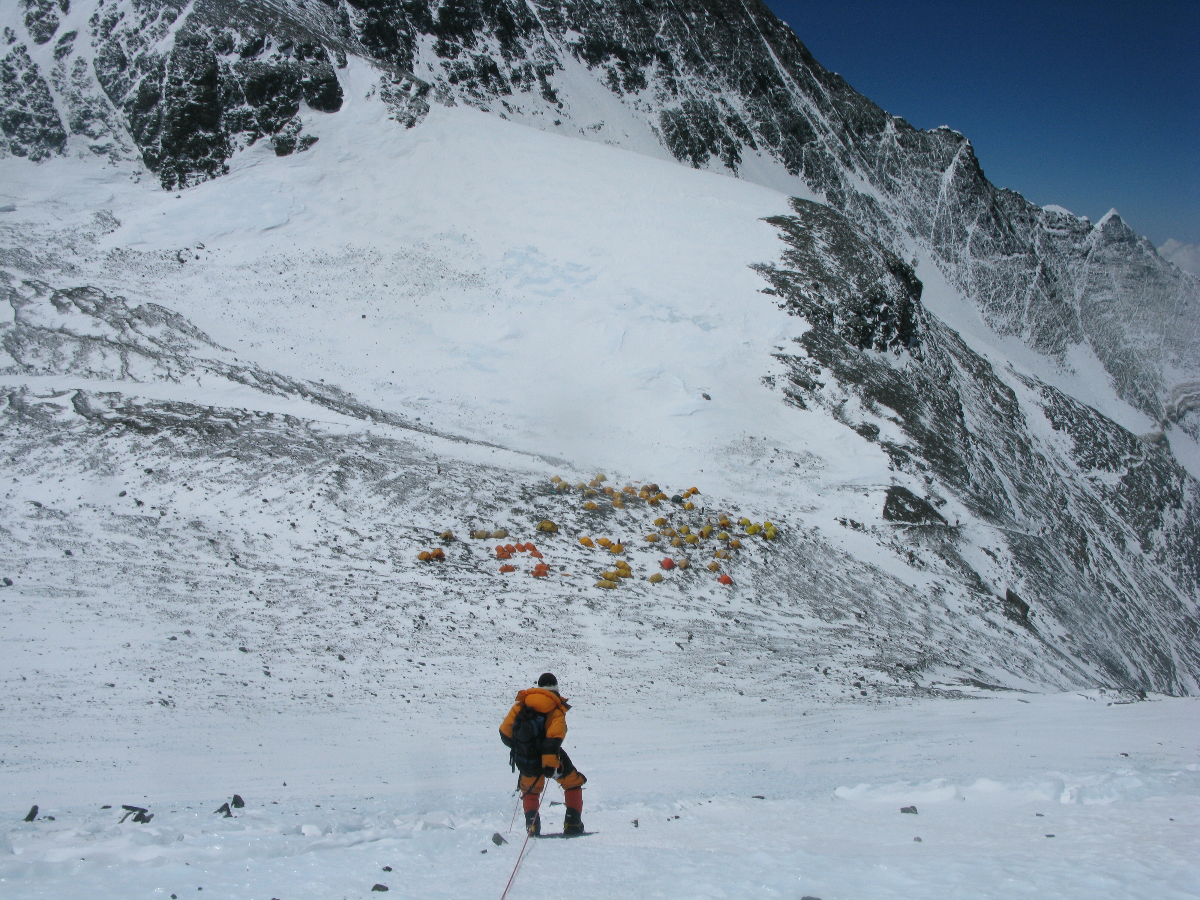 Is it hard to climb down from Mount Everest? - Quora