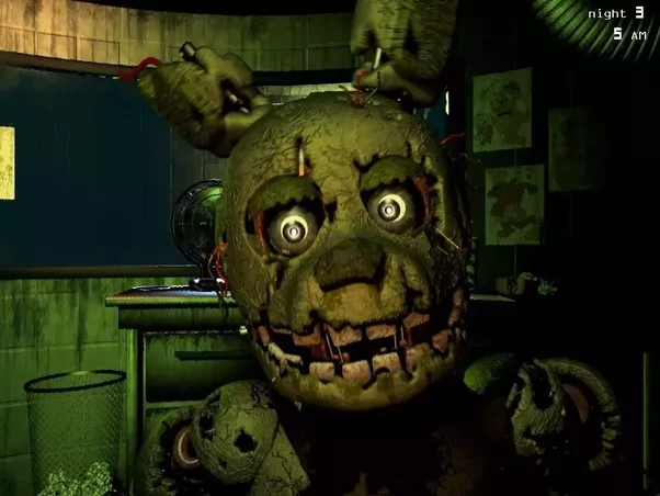 why isn t bonnie in five nights at freddy s 3 quora