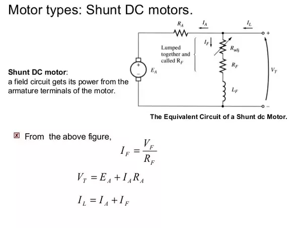 dc shunt wiring diagram experts of wiring diagram u2022 rh evilcloud co uk Simple DC Motor dc motor protection circuit breaker