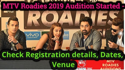 What is the procedure for entry in a Roadies' audition? - Quora