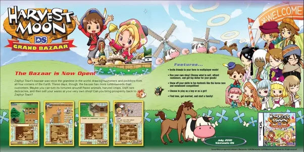 how to buy seeds from vesta harvest moon ds