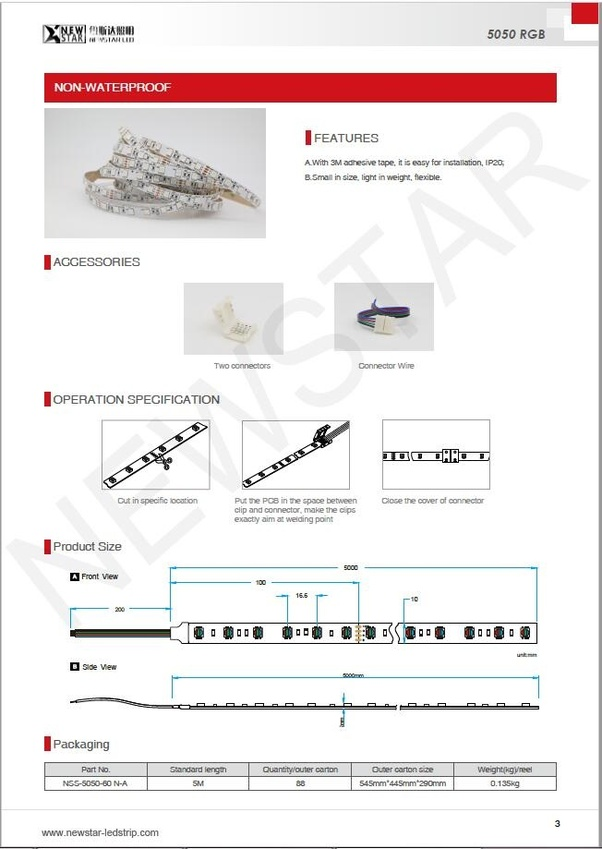 Installing Led Strip Lights Outdoor Manual Guide
