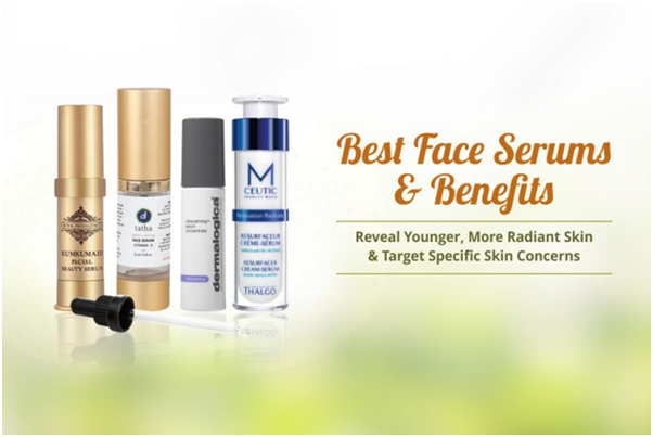 What are some of the best natural serums for skin available