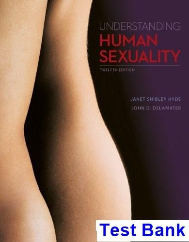 Understanding human sexuality hyde