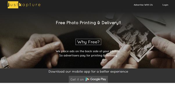 It provides best free high quality digital photo prints on 300 gsm photo print size 4 x 6 and photo prints on digital photo printing paper with matte or