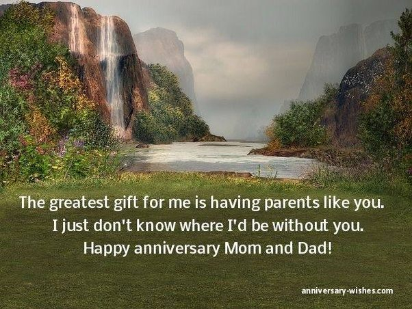 Should a child wish his parents a happy anniversary quora
