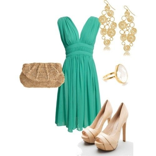 What Shoes And Jewelry Should I Wear With A Turquoise