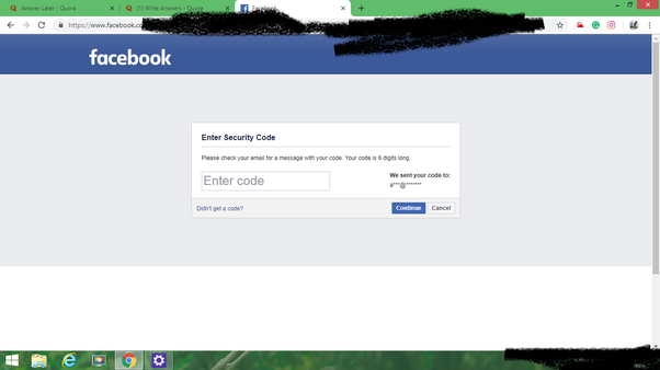 How to open my Facebook when I forgot the recent password
