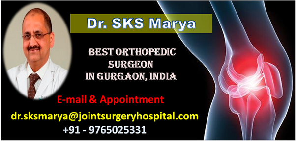 Who is the best orthopedic surgeon in india for total knee dr sks maryas dedicated skills in orthopedic work over past two decades35 years and till date dr sanjiv kumar singh marya has conducted over 30000 ccuart Choice Image
