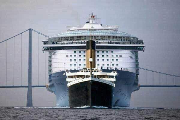 How Is The Titanic Compared To Carnival Cruise Ship Quora - How long is the carnival cruise ship