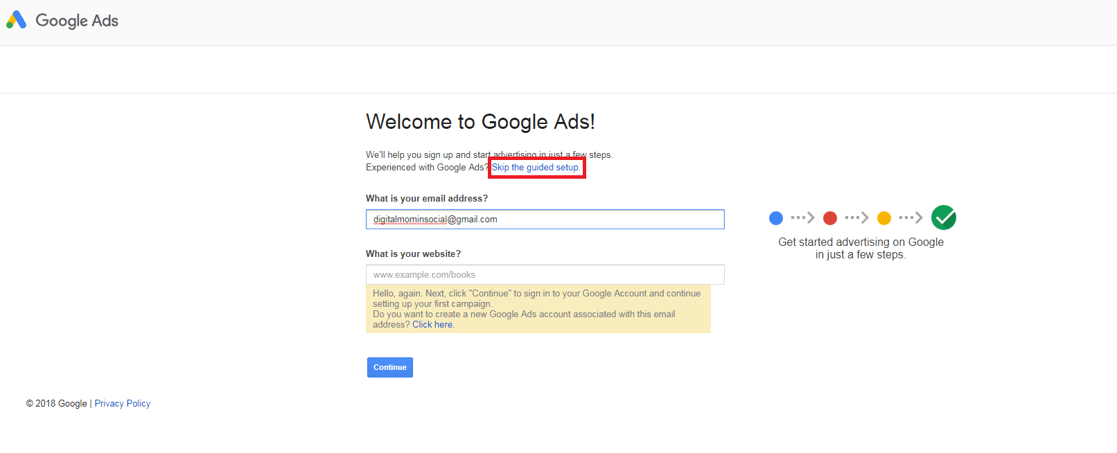How to setup Google Adwords Account in 2 minutes - Quora