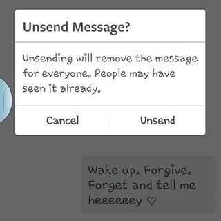 I can only hide messages on instagram how do i delete them quora note unsend will delete message from everyone you sent the message to ccuart Images