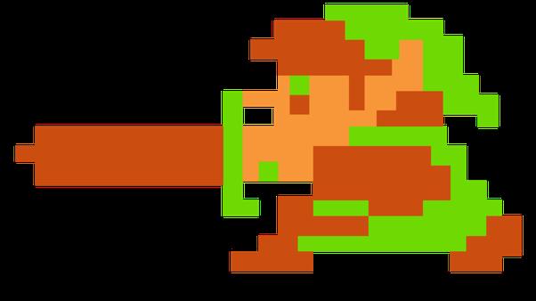 Link 8 Bit Sprite
