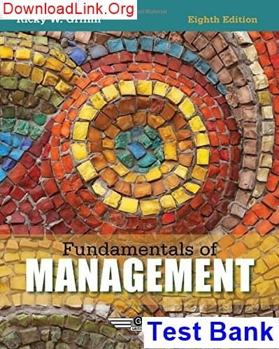 Contemporary Management 8th Edition Ebook