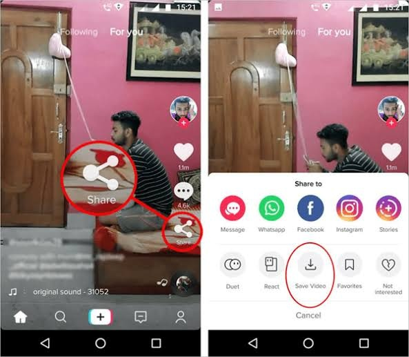 How To Save A Video In Tiktok Quora