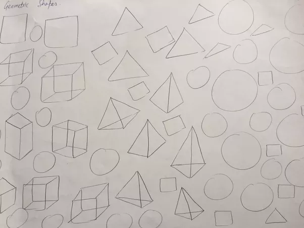 If You Carefully Start Observing Things Around Will Seeing Geometric Shapes In Everything Be It Lines Squares Triangles Or Circle