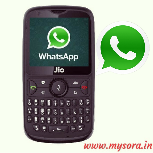 How to use WhatsApp on a Jio Keypad mobile - Quora