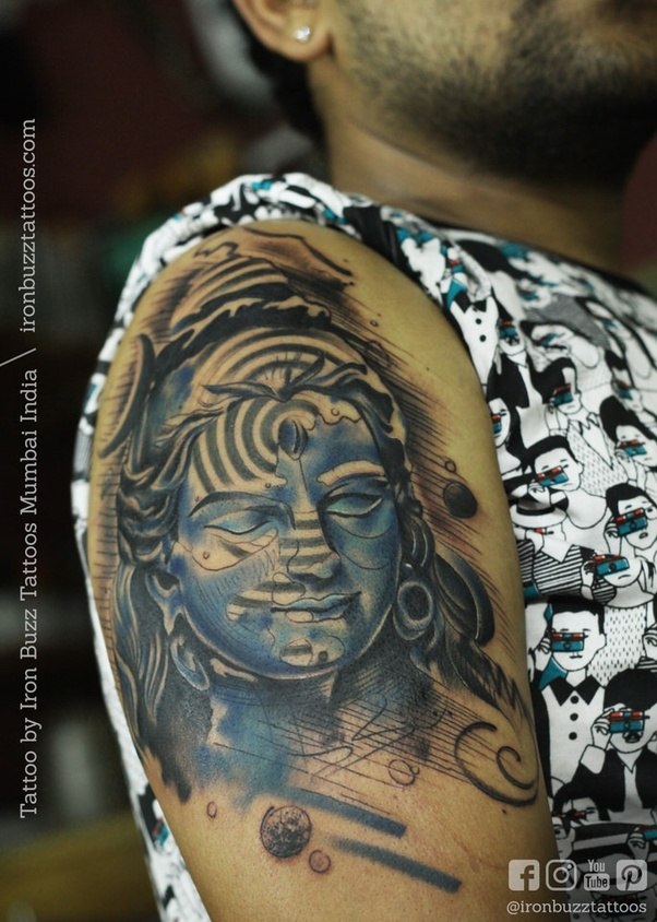 What Are Some Great Shiva Design Tattoos Quora