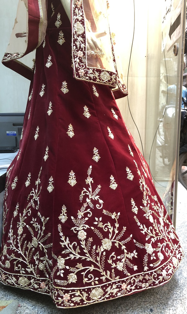 e28791f10e15 Zardozi embroidery is beautiful metal embroidery, which once used to  embellish the attire of the Kings and the royals in India.