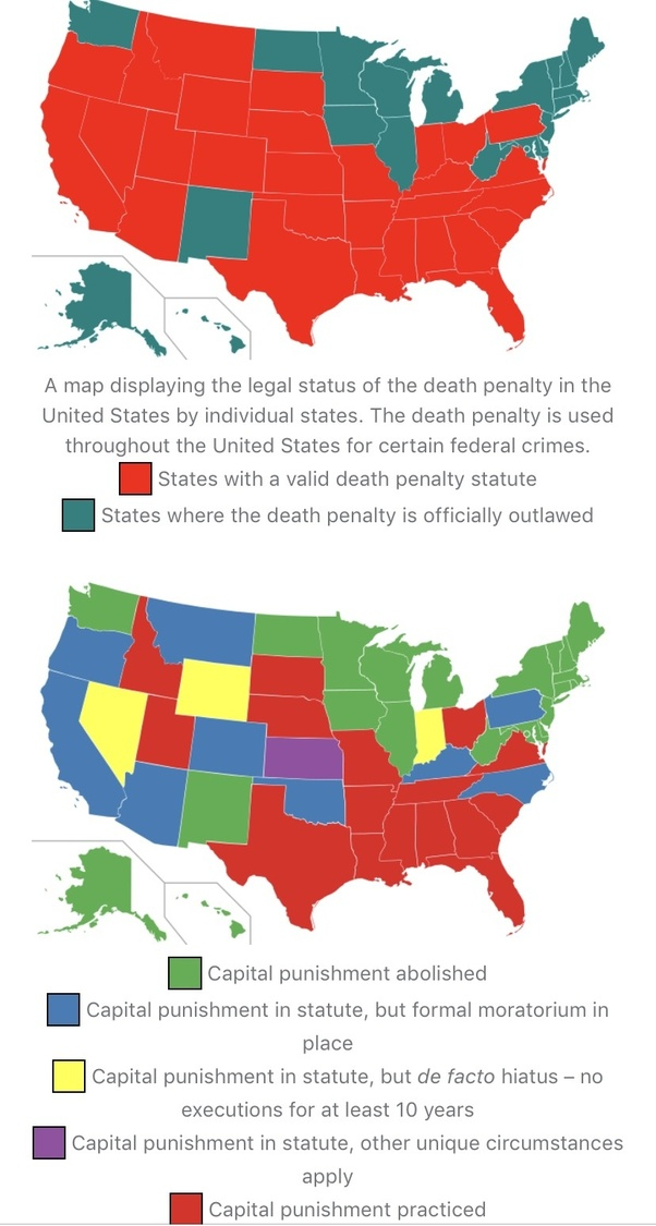 Does support for capital punishment in the USA vary between ...