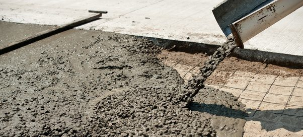 how to use dry mix concrete