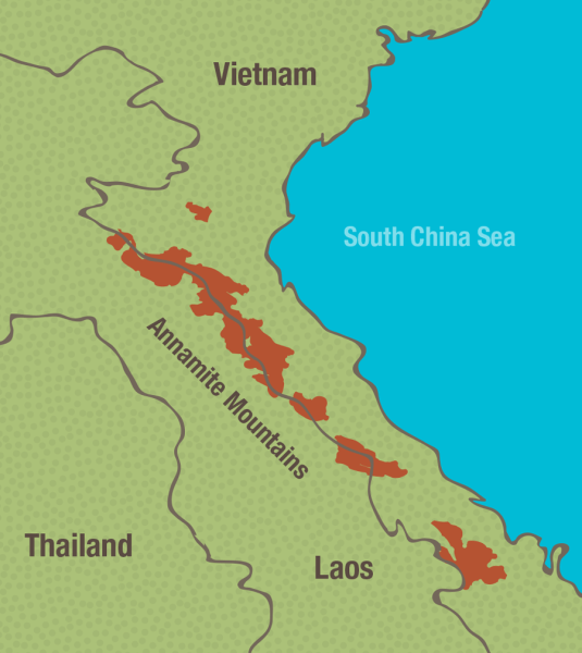 Mountains In Vietnam Map.Why Do Modern Vietnamese Speak An Austroasiatic Language If The
