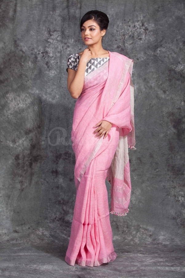 0d8bbfc015 What colour of saree matches a silver blouse? - Quora