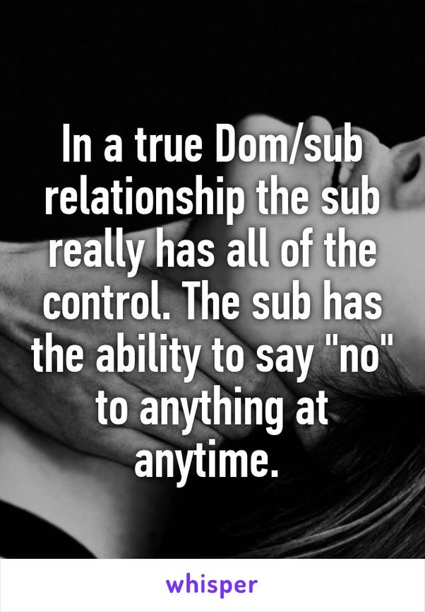 Sub online relationship dom I'm a