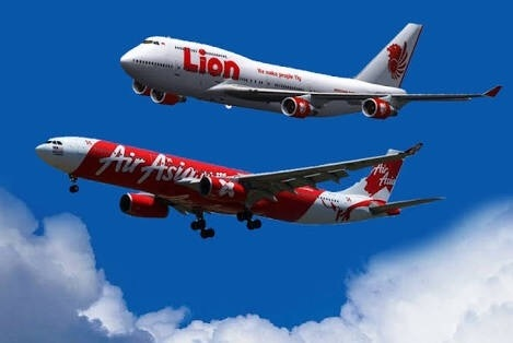 Does thailand prefer malaysias air asia over indonesias lion air not just thailand everyone would prefer airasia over lion air for lots of good reasons stopboris Images