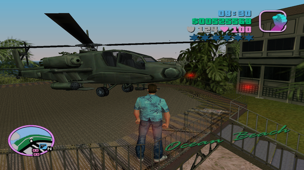 Where can I get a firing helicopter in GTA Vice City? - Quora