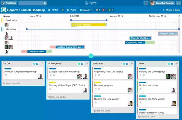 What are good ways to integrate trello with gantt chart software i have tested all the gantt apps that i have found for trello and the most intuitive seems to be elegantt you can find more info here httpelegantt ccuart Images