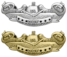 Breast insignia submarine