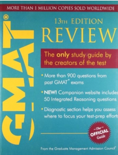 Gmat Official Guide 12th Edition Pdf