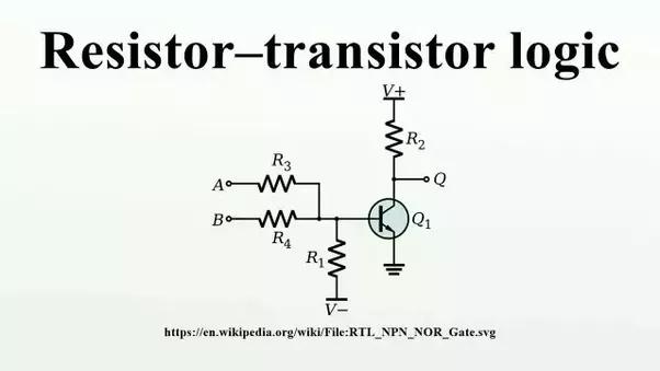 what is r t l resistance transistor logic quora rh quora com